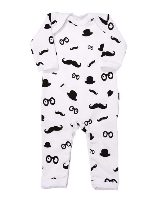 MOUSTACHE PATTERN newborn baby gift set for boys and girls