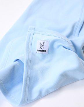 Snuglo™ supersoft, sky blue comfort blanket