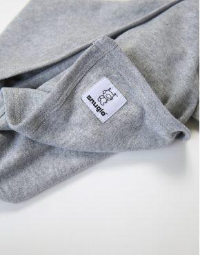 Snuglo™ supersoft, marl grey comfort blanket