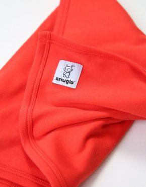 Snuglo™ supersoft, red comfort blanket