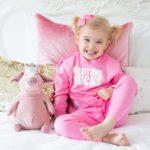 Bedtime Sucks pink Kids Pyjamas by Snuglo‰