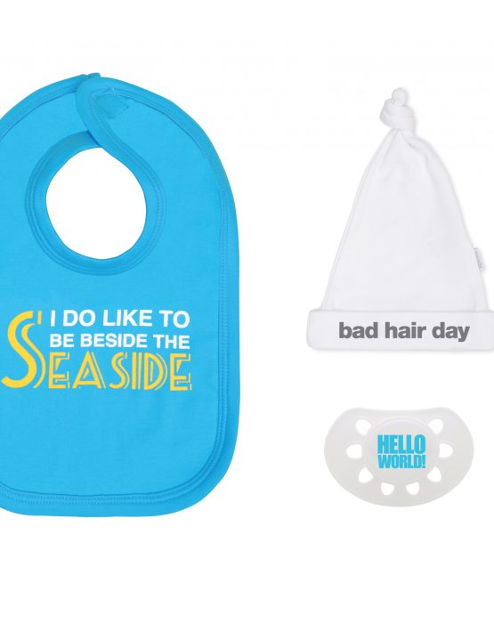 Seaside Blue Baby Gift Set
