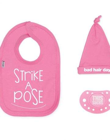Strike a Pose Baby Gift Set