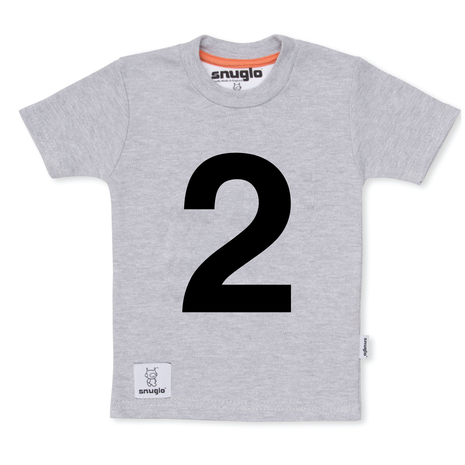 I AM 2 Grey T Shirt Unusual 2nd Birthday Gift Shirts